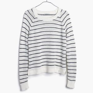 Madewell Dockweiler Mariner Striped Sweater